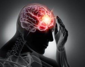 Gehirn mit göttlicher Geisteskraft