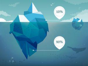 Selbsthypnose Eisberg